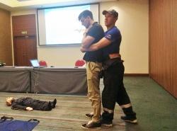 Обучение методам оказания первой помощи пострадавшим. Август 2019 года