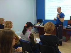 25 марта 2020 года состоялось обучение методам оказания первой помощи пострадавшим работников образовательных организаций.