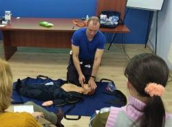 Обучение методам оказания первой помощи пострадавшим. Март 2020 года