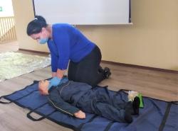 Обучение методам оказания первой помощи пострадавшим. Октябрь 2020 года.