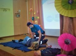 5 ноября состоялось выездное занятие с образовательными организациями Правдинского района по обучению методам оказания первой помощи пострадавшим._2