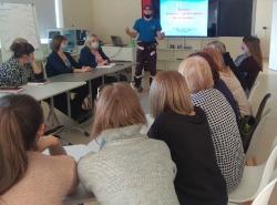 26 февраля 2021 года состоялось выездное занятие в образовательной организации Прлесского района по обучению методам оказания первой помощи пострадавшим_1