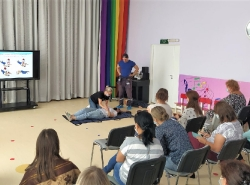 Проведено занятие с педагогическими работниками образовательного учреждения дошкольного образования