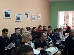 Выездное занятие по охране труда и пожарной безопасности с предпринимателями Славского городского округа